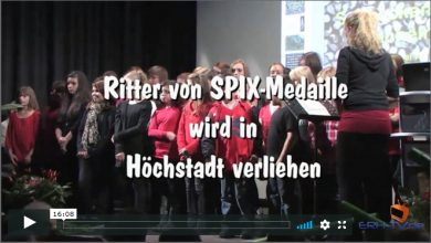 Photo of Verleihung der Spix-Medaille in Höchstadt